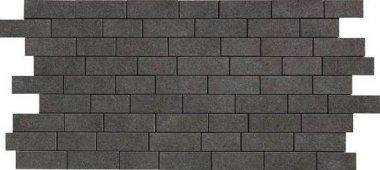 "Relevance Tile Mosaic 1"" x 2"" - Exact Black"