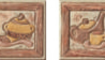 Jerusalem Backsplash Tile Decos (2 Piece Set) 4