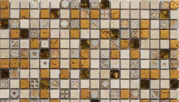 Artistic Cleopatra 1 Mosaic Tile - 12