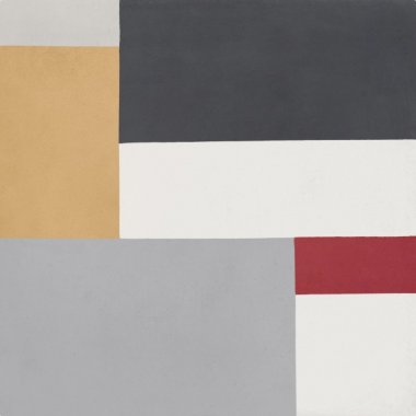 """Bati Orient Cement Tile Decor Modern Rectangles 8"""" x 8"""" - Antracite/Off White/Yellow/Red/Grey"""