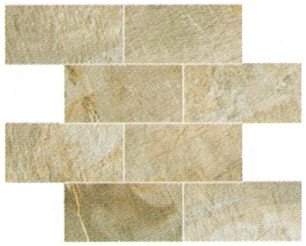 "Fossil Tile Mosaic 3"" x 6"" - Beige"