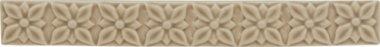 "Studio Tile Ponciana Liner 1.2"" x 7.8"" - Silver Sands"