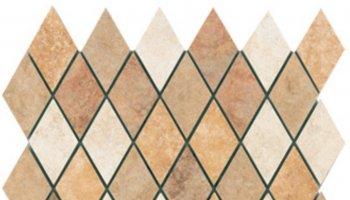 Puebla Rhombus Mosaic 11