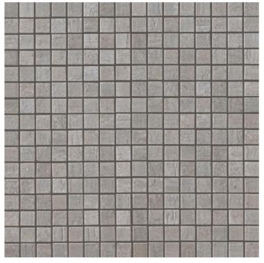 Mark Mosaic Mix Matte Tile 5/8 x 5/8 - Chrome
