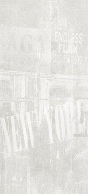 "Graffiti Tile Decor 12"" x 24"" - White"