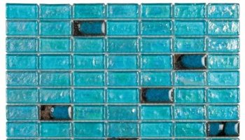 Glass Tile Mosaic Brick 3/4