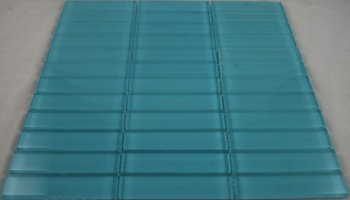 Crystal Glass Tile Stacked Pattern 1