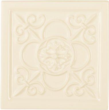 "Studio Tile Vizcaya Deco 5.8"" x 5.8"" - Bamboo"