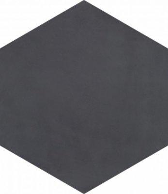 "Bati Orient Cement Tile Hexagon 8"" x 9"" - Antracite"