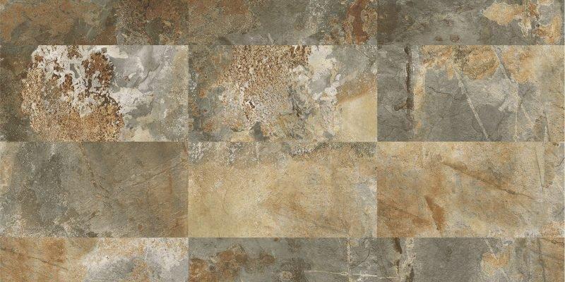Happy Floors Slate Tile 12 Quot X 24 Quot Multi