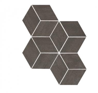 "Mark Mosaic Esagono Matte Tile 12"" x 13 7/8"" - Tobacco"