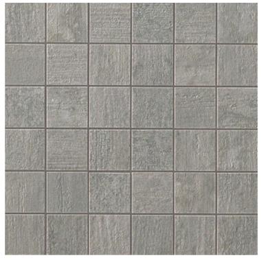 Mark Mosaic Matte Tile 2 x 2 - Chrome