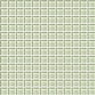 "Color Appeal Tile Mosaic 1"" x 1"" - Celedon"