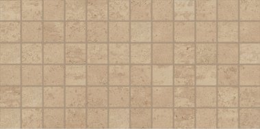 "Theoretical Tile Mosaic 2"" x 2"" - True Beige"
