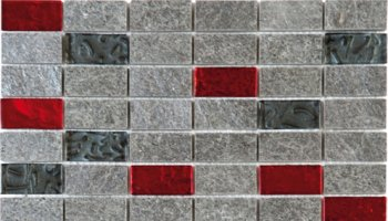 Quartzite Stone Tile Mosaic Natural 1