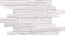 Eramosa Tile Random Strip Mosaic - Ice