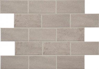 "Bricktown Tile 4"" x 8"" - Greige Parkway"