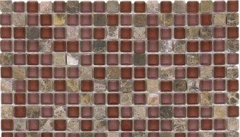 Glass Tile Glossy Mosaic 1