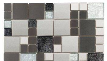 Metal Tile Cube Mosaic 12