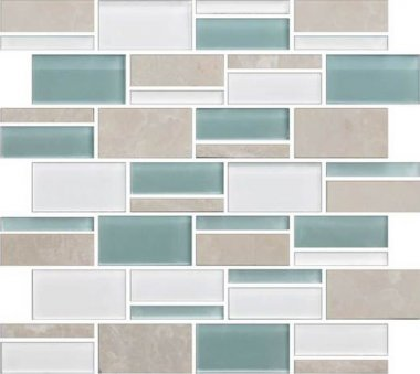 Color Appeal Tile Mosaic Blend 3in - Pacific Coast