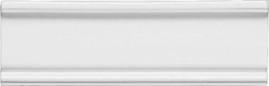"""Neri Tile Crown Molding #2 3"""" x 8"""" - White"""