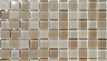 1X1 Glass Tile Mosaic 1