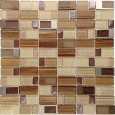 "Bangles Glass Tile 11.8"" x 11.8"" - Adams Morgan"