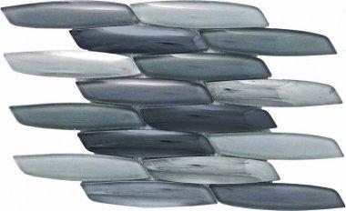 """Streamline Glass Tile 15.4"""" x 10.6"""" - Mustang"""
