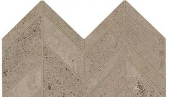 Modern Formation Tile Unpolished / Textured / Light Polished Blend Chevron 12