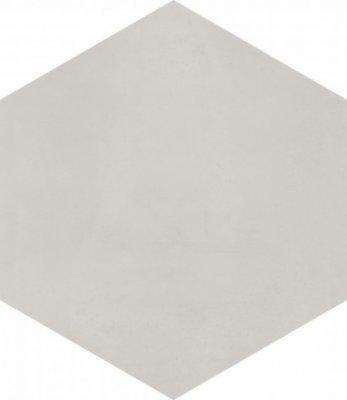"Bati Orient Cement Tile Hexagon 8"" x 9"" - Light Grey"