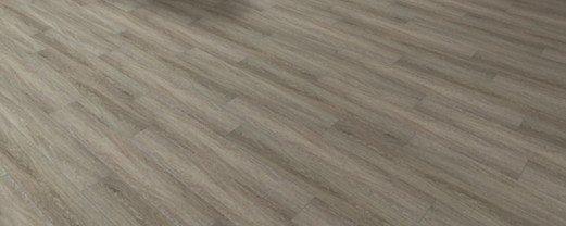 "cerameta - coremax hybrid vinyl flooring 7"" x 48"" - silver oak"