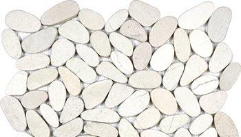Spa Pebbles Flat Mosaic 12