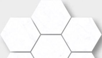 Carrara Tile Hex 3