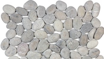 Spa Pebbles Natural Mosaic 12