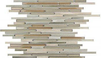 Cascades Ash Mosaic Tile - 11.8