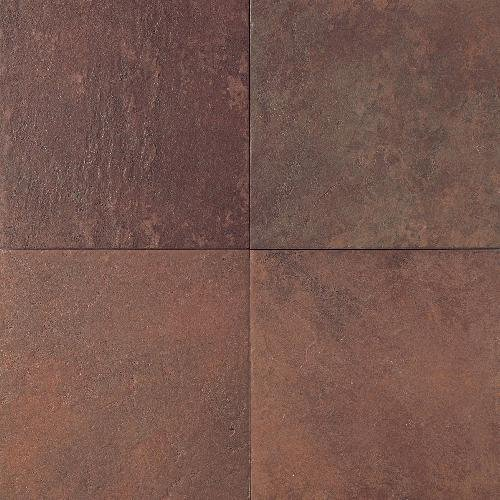 Continental Slate Tile 12 X Indian Red