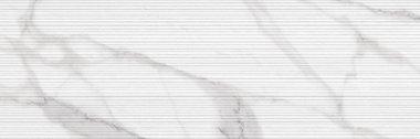 "Roma Series Tile Filo Decor 10"" x 30"" - Statuario"