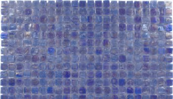 Ecologic Recycled Glass Tile Mosaic 7/16