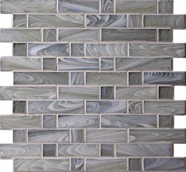 """Homespun Glass Tile Flannel 12"""" x 12.6"""" - Polwarth"""