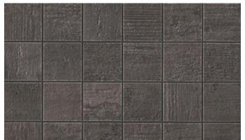 Mark Mosaic Matte Tile 2 x 2 - Tobacco