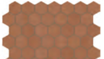 Moroccan Concrete Hex 1-1/2
