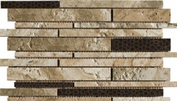 Archaeology Tile Strip Mosaic 12