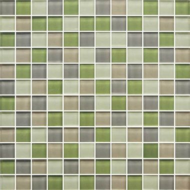 "Color Appeal Tile Mosaic Blend 1"" x 1"" - Willow Brook"