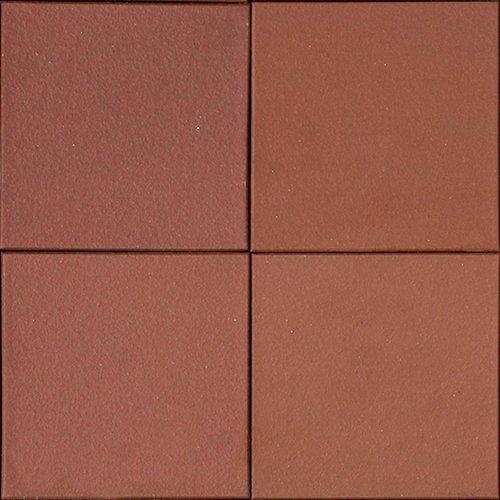 Metropolitan Ceramics Quarry Basics Tile 6 X 6 Mayflower Red