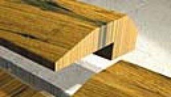 American Retreat Hardwood Baby Threshold - Antique