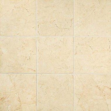 "Mirasol Tile Floor 24"" x 24"" - Crema Laila"