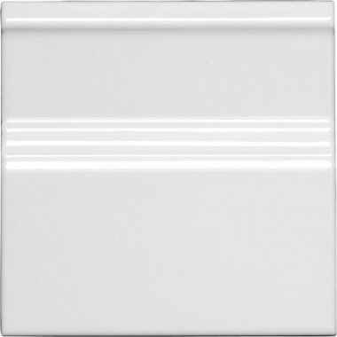 "Neri Tile Base Board 6"" x 6"" - White"