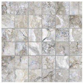 """Ottomano Tile Mosaic 2"""" x 2"""" - Argento"""