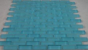 Crystal Glass Tile Brick 1/2