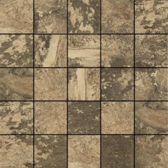 "Mandalay Tile Mosaic 2"" x 2"" - Stone"